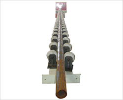 Roller Conveyor Polishing Machine for Pipe